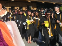US Education Secretary Arne Duncan Draws Protesters at Foothill College Graduation