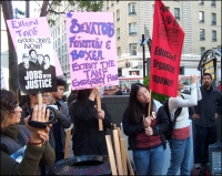 Protesters In San Francisco Demand Action On Unemployment