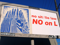 SF Artists Seize Billboards to Defeat Prop L