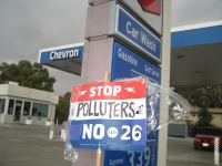 Chevron Gas Stations Site of Anti-Prop 26 Protests