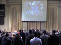 Justice for Derrick Jones Supporters Take Over Oakland City Council Meeting
