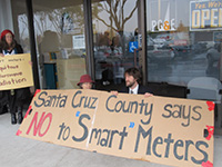 'Smart' Meter Protests Spread as PG&E Officials Implicated in Spy Scandal
