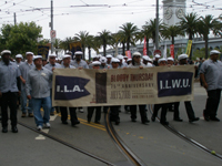 ILWU Sued After Solidary Work Stoppage on April 4th