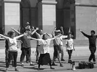 Richardson Grove Direct Action Group Brings Flash Mob to Sacramento