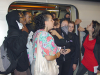 Justice for Charles Hill BART Action Shuts Three Stations in San Francisco