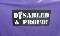 Disabled and Proud March Through Downtown San José