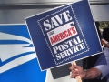 Demonstrators Fight to Save the U.S. Postal System