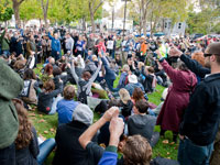 Occupy Santa Cruz Holds First General Assembly, Decides on Occupation of San Lorenzo Park