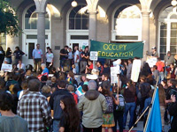 "UC Santa Cruz Students Join Occupy Movement with ""Occupy Education"" Protest"