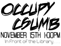 Occupy CSU Monterey Bay: Rally, March and General Assembly on Nov. 15