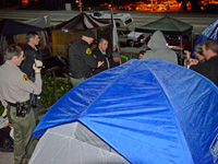 Occupy Santa Cruz Remains Committed Despite Raids by County Sheriffs and City Injunction