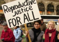 West Coast Rally for Reproductive Justice, Rain or Shine!