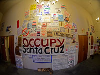 OSC Hosts Occupy Art Show at Resource Center for Nonviolence