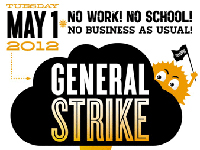 Largest General Strike in Decades — May Day 2012