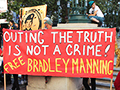 Free Bradley Manning Action Takes Obama's Oakland Headquarters