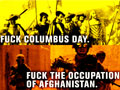 "West Coast Anti-Colonial, Anti-Capitalist March Says, ""Fuck Columbus Day"""