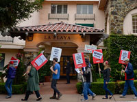 La Playa Carmel Labor Demonstrations Receive Boost from Quail Lodge Contract Victory