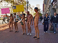 San Francisco Nudity Ban Passes by Narrow 6-5 Vote