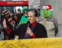 Senior Demonstrators Disrupt Business as Usual at Wells Fargo