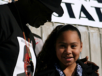 Oscar Grant Remembered at Fruitvale BART Vigil