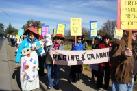 Roe v. Wade Anniversary Inspiration for Pro-Choice Rally, Flash Mob and Protest