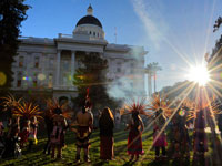 California Rallies in Solidarity with First Nations and Idle No More