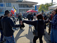 Reminders of California Colonialism Frame Idle No More Flash Mob in Monterey