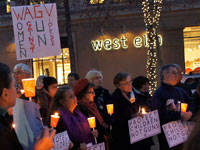 Rally and Candlelight Vigil Against Gun Violence Held in Palo Alto