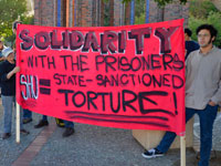 Supporting California and Santa Cruz Prison Hunger Strikers at 'Hunger for Justice'