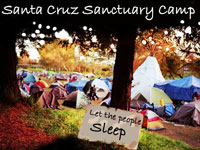 First Draft of Santa Cruz Sanctuary Camp Proposal Released