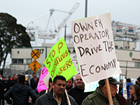 Truckers Shut Down Port of Oakland