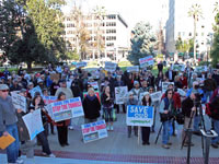 Hundreds Oppose Governor Brown's Massive Water Export Tunnels at State Capitol Rally