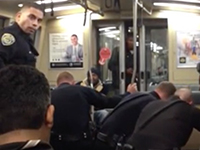 "Man Tased on BART Train Repeatedly for ""Doing Nothing"""