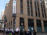 SF City Workers March on Twitter
