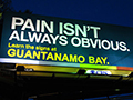 "Corrected Billboard ""Defends"" Transparency at Guantanamo Bay"