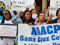 March and Prayer Vigil Held in Response to Racial Bullying at UC Santa Cruz