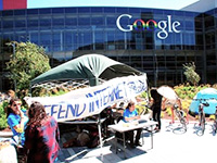 Occupy Google Demands Dialogue, Gets Arrested