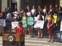 Redwood City Rally for Equal Rights Amendment