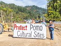 Fight to Protect Ancient Native Sites and Wetlands from Willits Bypass