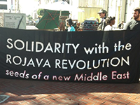 SF Demonstration in Solidarity with Kobane and Rojava Revolution