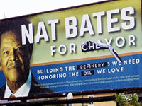 "Chevron-funded Political Billboards ""Corrected"" in Richmond"