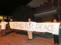 Peace Activists 'Banned for Life' from Bookshop Santa Cruz for Protesting Leon Panetta