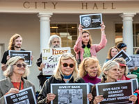 Rallies Opposing Police Militarization Become Fixture at Santa Cruz City Council Meetings