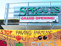 Activists Protest Sprouts Grand Opening in San Rafael
