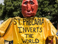 "UC Santa Cruz Lecturers Mark Expiration of Contract with ""St. Precaria's Picnic"""
