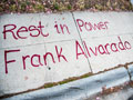 Memorial Marks One Year Since Frank Alvarado was Killed by Salinas Police