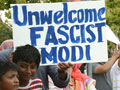 "Protesters Enact Die-In to ""Unwelcome"" Narendra Modi to Silicon Valley"