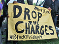 "Labor and BLM Demand: ""Drop the Charges Against the Black Friday 14!"""
