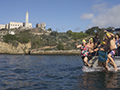 Native Americans Swim Alcatraz to Fight Diabetes
