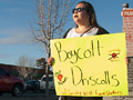 Boycott Driscoll's Action at Whole Foods Market in Santa Cruz